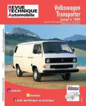 Rta 732.1 Vw Transporter Essence Et Diesel 79-90 - Couverture - Format classique