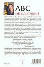 Abc De L'Alchimie - 4ème de couverture - Format classique