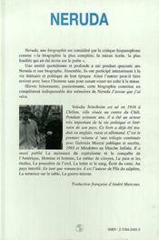 Neruda - 4ème de couverture - Format classique