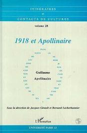 1918 et Apollinaire - Intérieur - Format classique