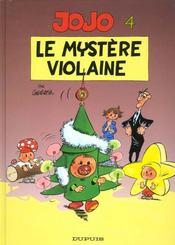 Jojo t.4 ; le mystère Violaine - Intérieur - Format classique