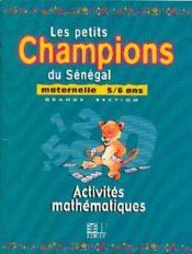 Maternelle 5/6 Ans / Activites Mathematiques - Couverture - Format classique