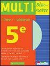 MULTI BLOC-NOTES 5eme - Intérieur - Format classique