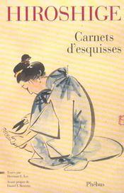 Hiroshige Carnets D Esquisses - Intérieur - Format classique