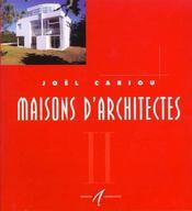 Maisons D'Architectes T2 - Intérieur - Format classique