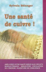 Sante De Cuivre ! - Couverture - Format classique