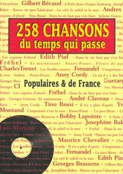 258 chansons du temps qui passe - Intérieur - Format classique