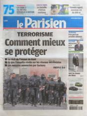 Parisien 75 (Le) N°21003 du 23/03/2012 - Couverture - Format classique