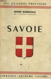 Savoie. - Couverture - Format classique