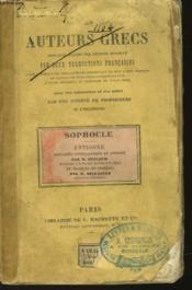 Les Auteurs Grecs - Couverture - Format classique