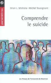 Comprendre le suicide - Intérieur - Format classique