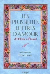 Les plus belles lettres d'amour - Couverture - Format classique