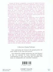 Gerard De Nerval:La Marche A L'Etoile - 4ème de couverture - Format classique