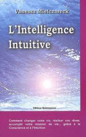 L'intelligence intuitive - Couverture - Format classique