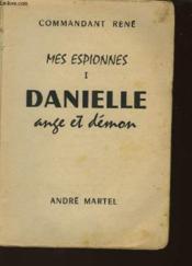 Mes Espionnes - Tome 1 - Danielle Ange Et Demon - Couverture - Format classique