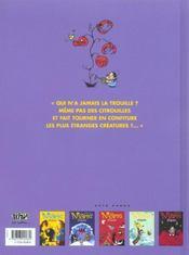 Marie frisson t.6 - 4ème de couverture - Format classique