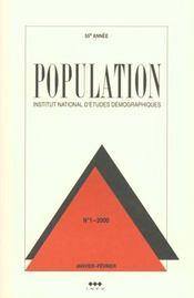 Population 2000 N.1 Janvier-Fevrier - Intérieur - Format classique