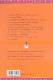 La princesse mendiante - 4ème de couverture - Format classique