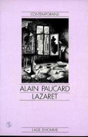 Lazaret - Couverture - Format classique