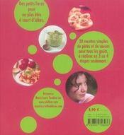 Spaghettô ! pâtes et sauces - 4ème de couverture - Format classique