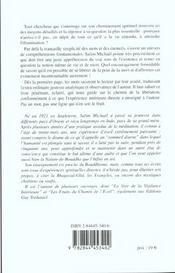 Eveiller Une Question De Vie Ou De Mort (S') - 4ème de couverture - Format classique