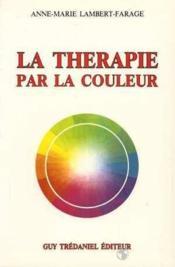 Therapie Par La Couleur (La) - Couverture - Format classique