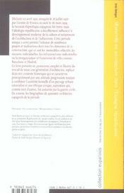 Modernite En Architecture Dans L'Espagne Republicaine - 4ème de couverture - Format classique