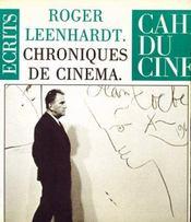 Chroniques de cinéma - Intérieur - Format classique
