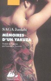 Mémoires d'un yakuza - Intérieur - Format classique