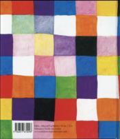 Elmer - 4ème de couverture - Format classique