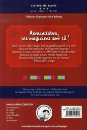 La magie - 4ème de couverture - Format classique