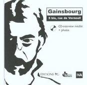 Gainsbourg 5 Bis Rue De Verneuil Cd Interview Inedite Et Photos - Intérieur - Format classique