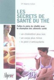 Les Secrets De Sante Du The - Intérieur - Format classique