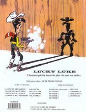 Lucky Luke t.66 ; O.K. Corral - 4ème de couverture - Format classique