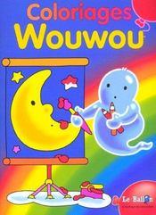 Wouwou ; coloriage - Intérieur - Format classique