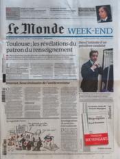 Monde (Le) N°20894 du 24/03/2012 - Couverture - Format classique