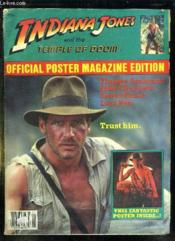 Indiana Jones And The Temple Of Doom. Official Poster Magazine Edition. - Couverture - Format classique