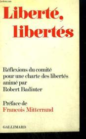 Liberte, Libertes. - Couverture - Format classique