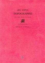 Topographie - Couverture - Format classique