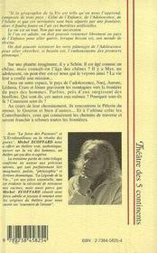 La Legende De La Vie Ou Fous L'Camp Bouffon - 4ème de couverture - Format classique