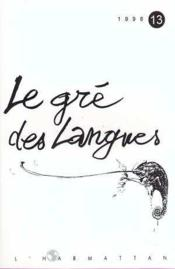 Gre Des Langues 13 - Couverture - Format classique