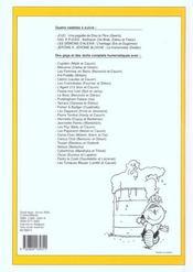 Recueil Spirou N.274 - 4ème de couverture - Format classique