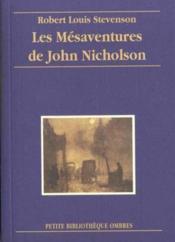 Mesaventures De John Nicholson (Les) - Couverture - Format classique
