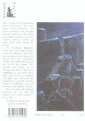 La Compagnie Noire T.2 ; L'Eau Dort T.2 - 4ème de couverture - Format classique