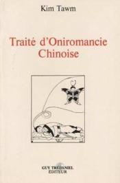 Traite d'oniromancie chinoise - Couverture - Format classique