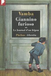 Giannino Furioso ou le journal d'un fripon - Intérieur - Format classique