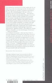 Livre De L'Ornement Et De La Guerre (Le) - 4ème de couverture - Format classique
