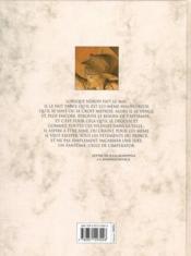 Murena t.3 ; la meilleure des mères - 4ème de couverture - Format classique