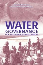 Water governance for sustainable development - Couverture - Format classique
