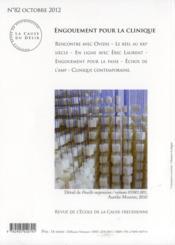 La Cause Du Desir N.82 ; Engouement Pour La Clinique - 4ème de couverture - Format classique